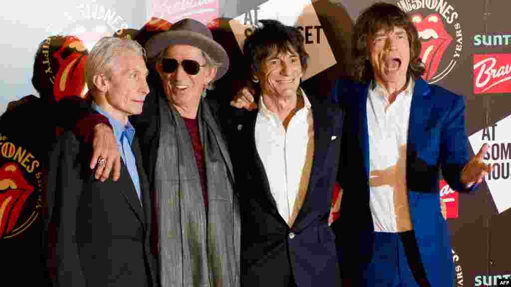 Rolling Stones, Лондон, 12 липня 2012 року