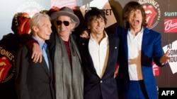 Музыкальная группа Rolling Stones.