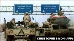Операція «Буря в пустелі» зі звільнення Кувейту від військ іракського диктатора Саддама Хусейна. Лютий 1991 року.
