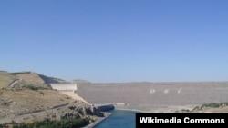 سد أتاتورك على نهر الفرات في تركيا