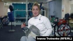 Ірма Хецуріані, чемпіонка з фехтування