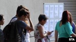 Резултатите по български език и литература са много по-високи от тези по математика