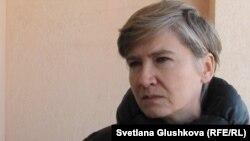 «Жаңа құрылыс» компаниясы директорының орынбасары Елена Чайка. Астана, 4 сәуір 2013 жыл.