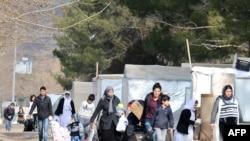 مهاجرین در راه اروپا