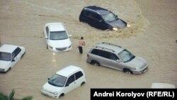 Дождевой паводок в Сочи