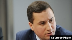 Armenia - Tigran Balayan, a spokesperson for the Armenian Foreign Ministry