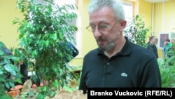 Nebojša Milosavljević, sa izložbe gljiva u Kragujevcu, foto: Branko Vučković