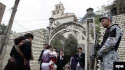 اجراءات امنية في محيط كنيسة عراقية