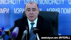 Мэр Гюмри Самвел Баласанян (архив)