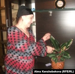 Жительница Кызылорды Сара Камалова. 19 марта 2014 года.