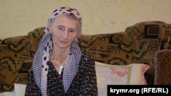 Crimea, Bylogirsk - activist of the Crimean Tatar national movement Vedzhie Kashka, 16Aug2017