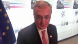 Министр иностранных дел Армении Зограб Мнацаканян, Брюссель, 14 мая 2019 г.