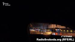 Авто, яким користується народний депутат Денис Дзензерський, їде до МВС