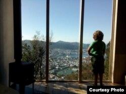 Вид на Берген из Тубакубы
