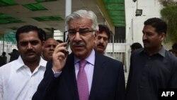 پاکستان دفاع وزیر خواجه اصف