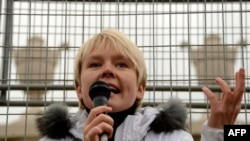 Russian environmental activist Yevgenia Chirikova (file photo)