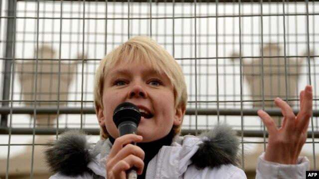 Russian environmental activist Yevgenia Chirikova (file photo)
