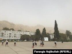 Local school students in Norak.