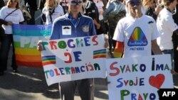 Podgorička Parada ponosa 20. oktobra 2013. godine