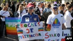Para e Homoseksualëve, Podgoricë, 20 tetor 2013