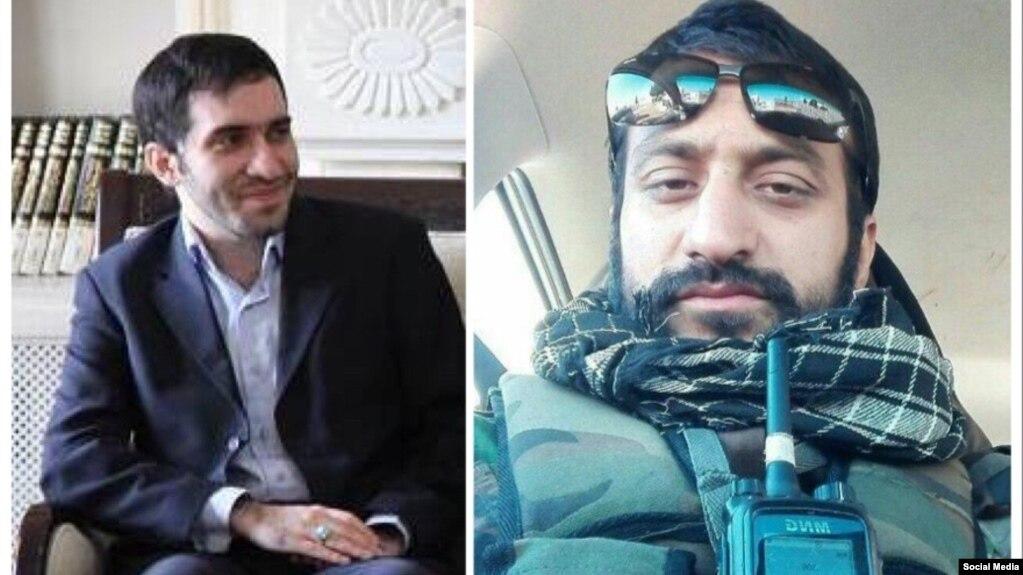 محمدحسین رستمی (سمت راست) و علی غزالی (سمت چپ)