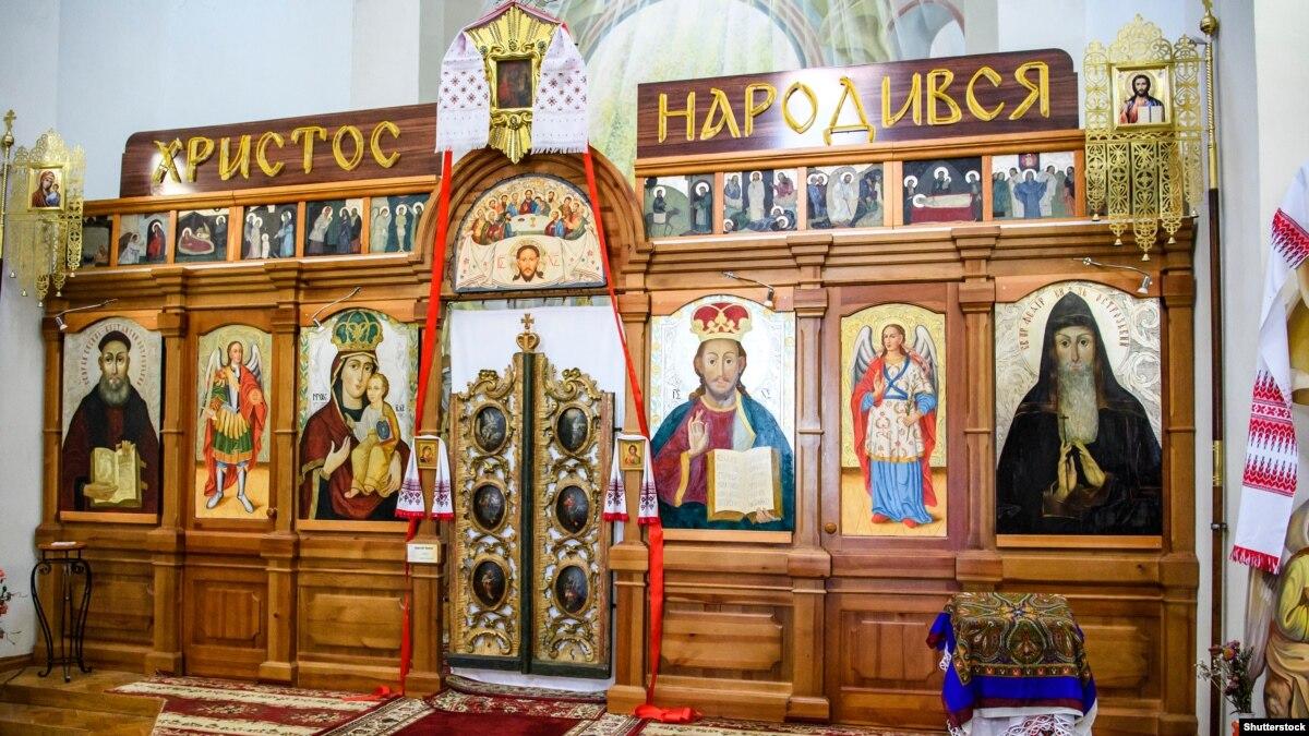 25 декабря в Луцке впервые в храме ПЦУ состоялось Рождественское богослужение