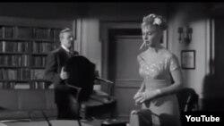 """""""Evanın üç üzü"""" filmindən görüntü, rejissor Nunnally johnson"""
