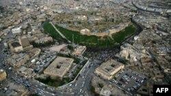 Pamje nga ajri i qytetit Irabil në Irak