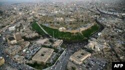 Pamje e qytetit Irbil në pjesën veriore të Irakut