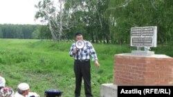 Кумыслы авылында һәйкәл ачу тантанасы