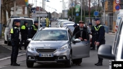 Belgijska policija kontroliše automobil, ilustrativna fotografija