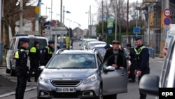 Belgijska policija u akciji, ilustracija