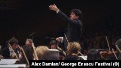 Imagini din timpul Festivalului Enescu