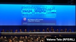 УЕФА конгресси, Будапешт, 3-май, 2016-жыл.