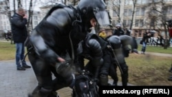"""Belarus - Proteste de """"Ziua libertății"""" la MInsk, 25 martie 2017"""