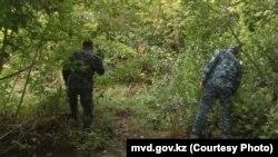 Поиски пропавшего ребенка в Карагандинской области.