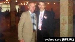 Фотаальбом Анатоля Сахарушы — з Паўлам Севярынцам