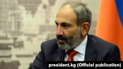 Prime Minister Nikol Pashinian (file photo)