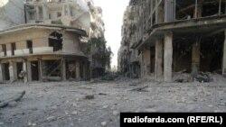 بخش شرقی حلب.