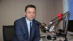 Valentina Ursu în dialog cu președintele CEC, Dorin Cimil