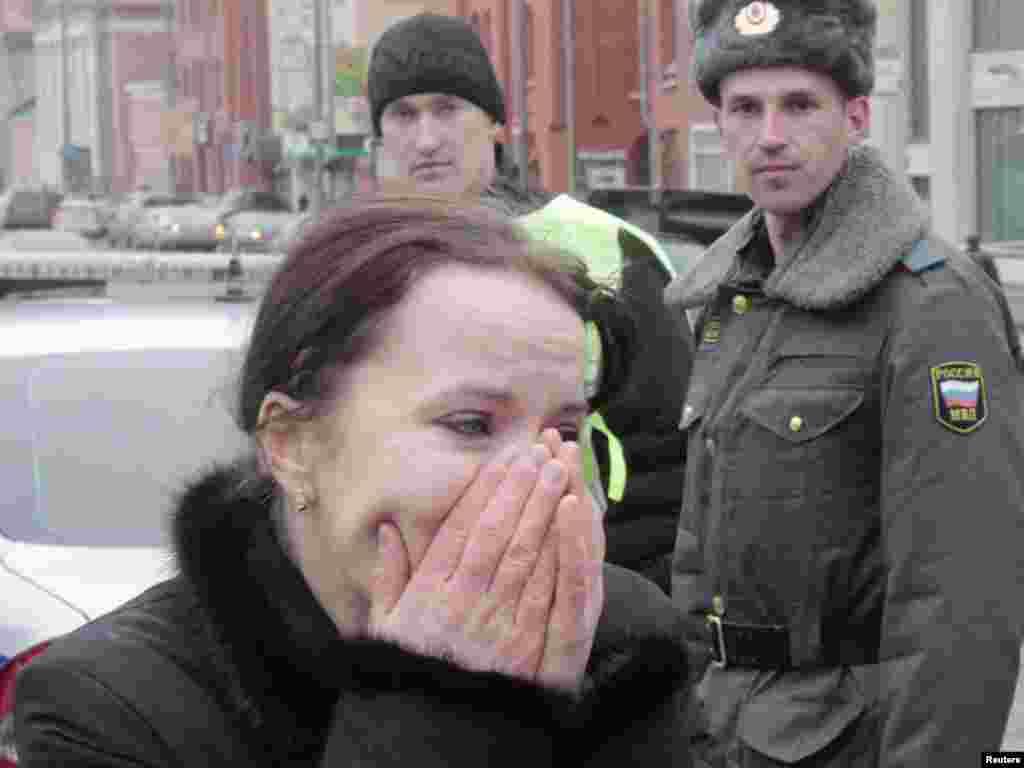 Постраждалі біля станції метро «Луб'янка»