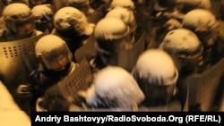 Кіеў: Зачыстка на вуліцы Грушэўскага