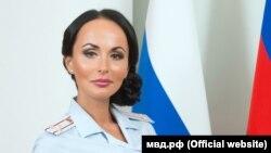 Россия Федерацияси ички ишлар вазирининг ёрдамчиси, полиция полковниги Ирина Волк.