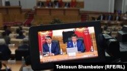 Заседание правительства КР, 21 августа 2017 г.