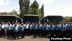 Avtobus sürücüləri. 11 iyun 2016