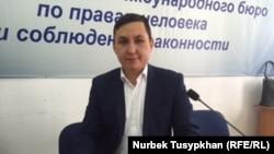 Нурбек Кушакбаев, инспектор по защите труда мангистауской компании Oil Construction Company. Алматы, 25 ноября 2016 года.