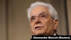 Իտալիայի նախագահ Սերջիո Մատարելլա, արխիվ