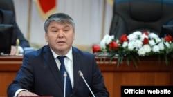 Қирғиз Республикаси Иқтисодиёт вазири Арзибек Кожошев.