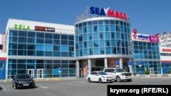Торговый центр Sea Mall на проспекте Генерала Острякова в Севастополе не работает уже более месяца. Август 2018 года
