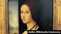 """""""Portret mlade žene"""" za koji se tvrdi da riječ o bosanskoj kraljici Katarini Kosači Kotromanić, Musei Capitolini, Rim"""